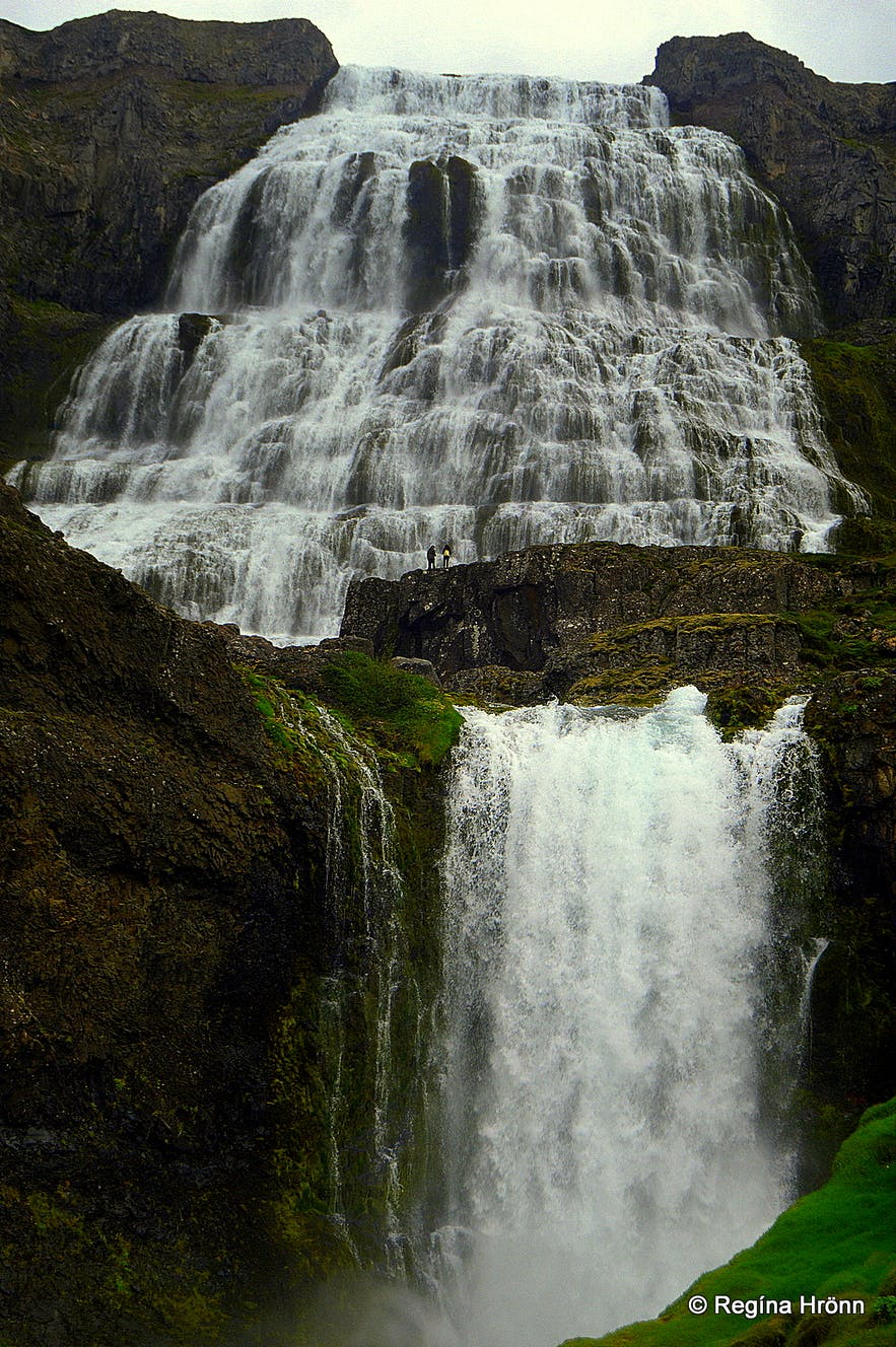The magnificent Dynjandi Waterfall - the Jewel of the Westfjords of Iceland