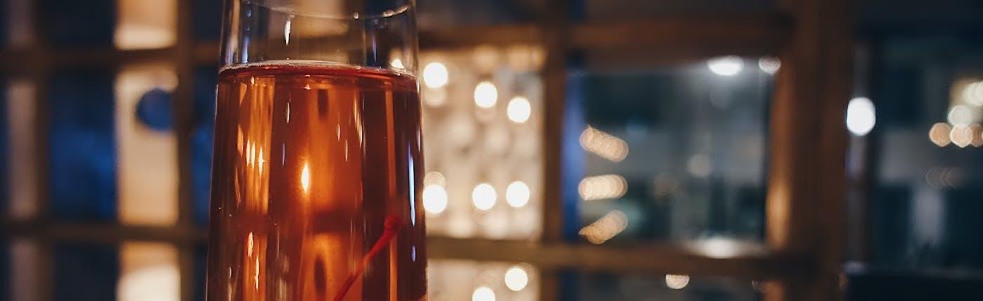 Cocktail at Matwerk in Reykjavík