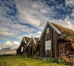 Turf houses are a traditional part of Icelandic culture, best seen in North Iceland in summer.