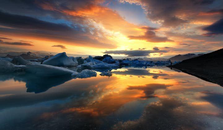 南岸一日游至杰古沙龙冰河湖 包含冰湖水陆两栖船游