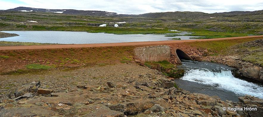 Dynjandisheiði heath road Westfjords of Iceland