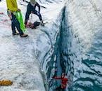 Wędrówka i wspinaczka po lodowcu Solheimajokull