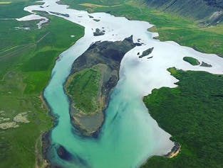 Flightseeing Tour Over the Golden Circle and Glymur Waterfall
