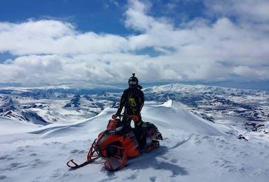 Conquer Eyjafjallajokull! | Highlands Snowmobiling Adventure Tour
