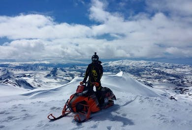 Conquer Eyjafjallajokull! | Highlands Snowmobiling Adventure Tour