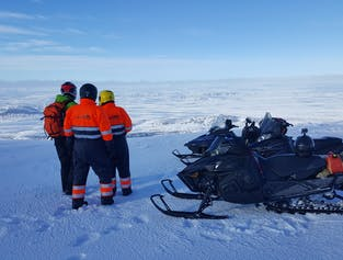 Highland snowmobiling tour