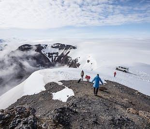 Excursión en Súper Jeep por el glaciar de Skálafellsjökull (en español)