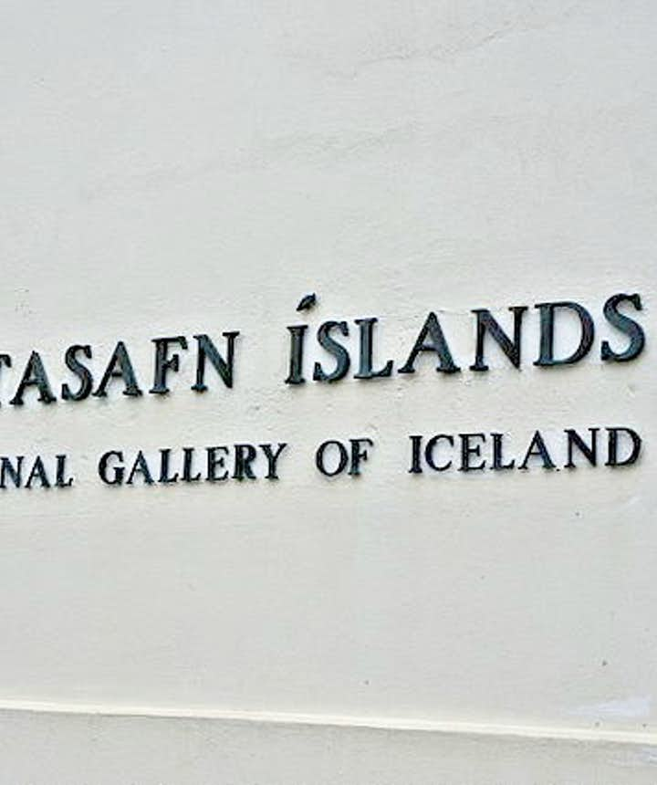 The National Gallery of Iceland is located by the City Pond