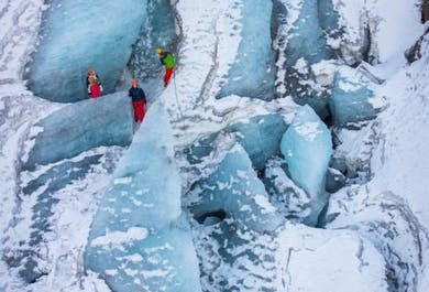 Private Glacier Hike on Solheimajokull Glacier