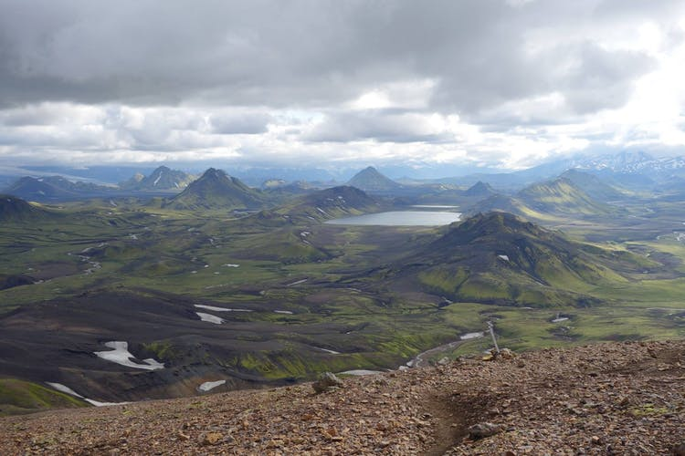 The Icelandic Central Highlands are known for their gorgeous and dramatic scenery.