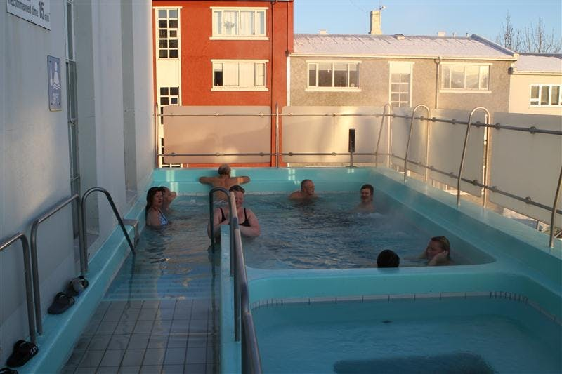 Indoor Pool And Hot Tub With A Slide Throughout The Best Swimming Pools In Reykjavik Relax Hot Tubs