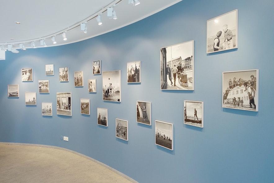 레이캬비크 사진 박물관의 전시 공간