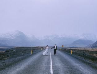 冰岛一日 长途旅拍婚纱照写真  雷克雅未克出发
