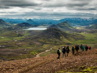 Landmannalaugar to Thorsmork | Four-day camping tour