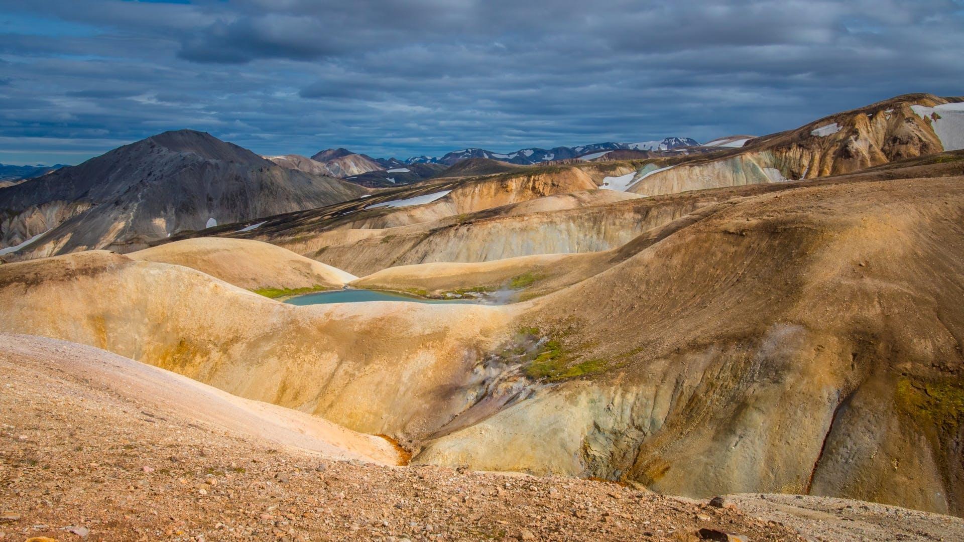 Landmannalaugar to Thorsmork | Four-day camping tour