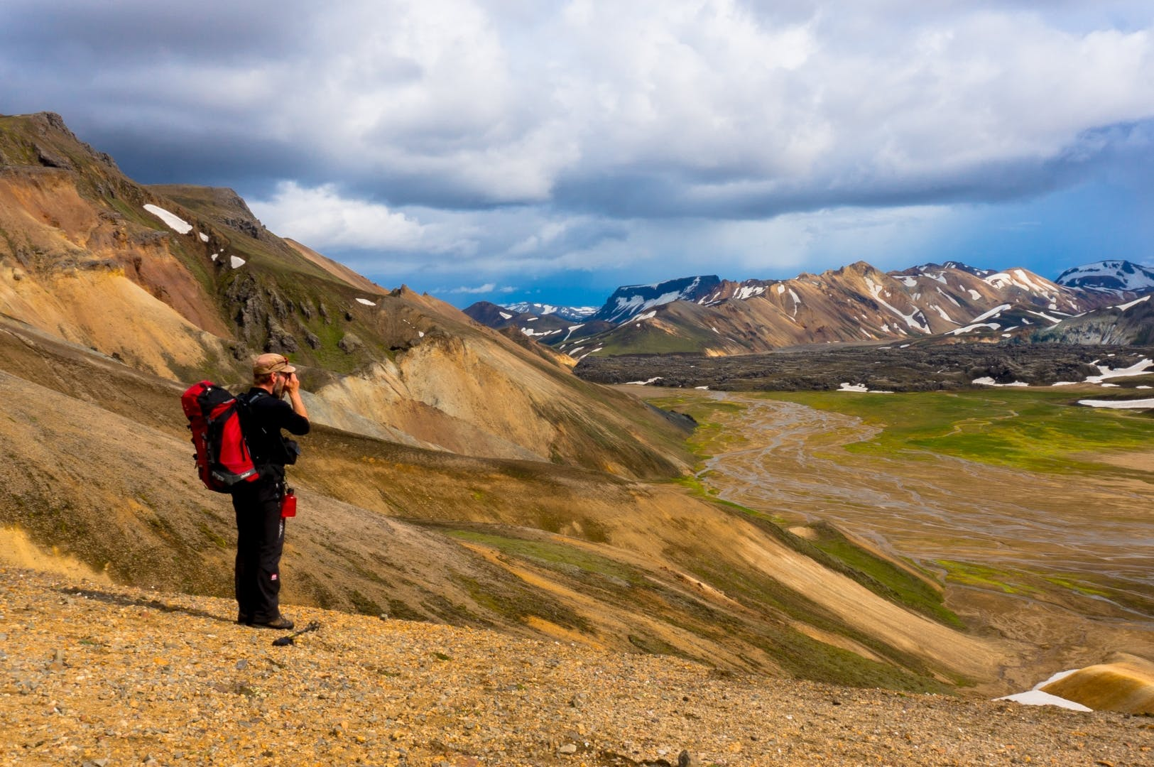 Four-Day Hike to Landmannalaugar | Volcano Trail Part 3