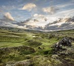 Beneath the midnight sun, the Icelandic highlands can be explored day and night.