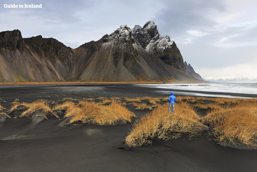 冰島東部Vestrahorn山