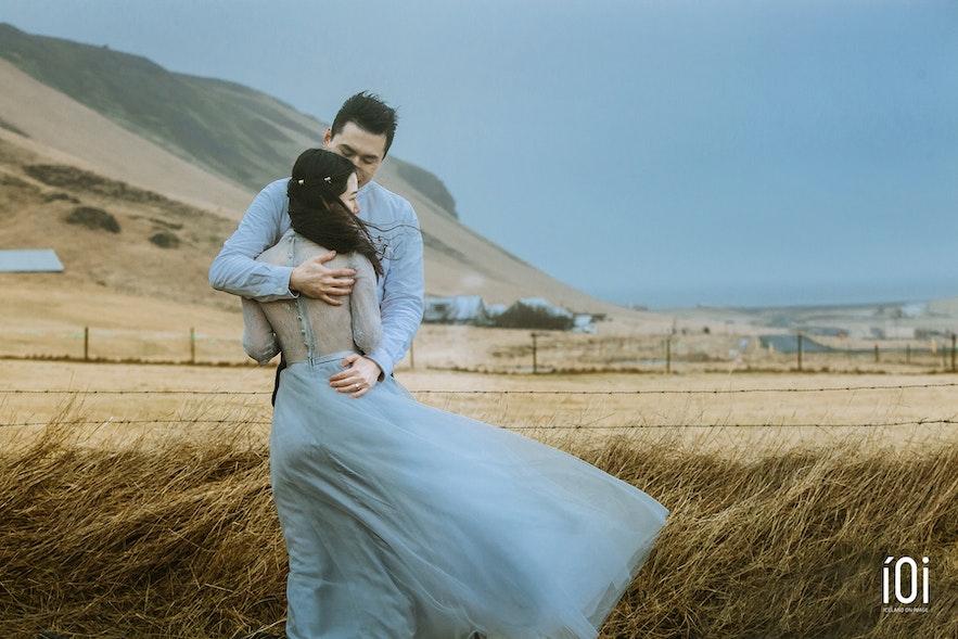 冰岛婚纱照