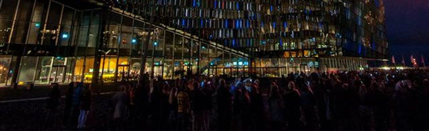 Nuit de la Culture à Harpa à Reykjavík