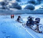 Snowmobile tour - Ride where the pros ride