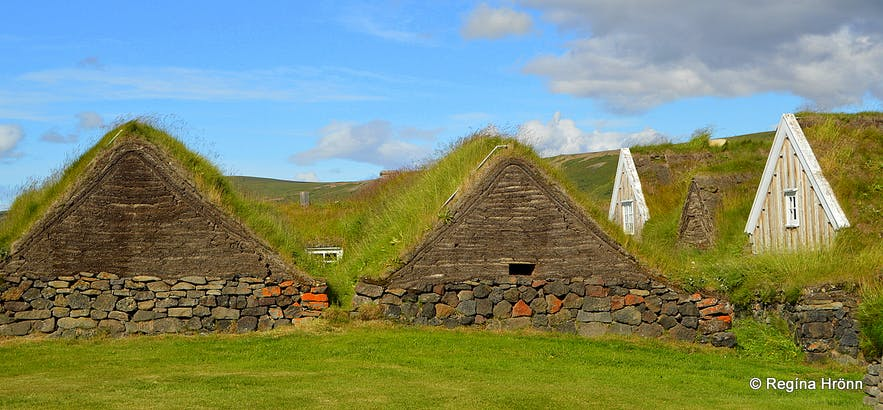 The majestic Þverá Turf House in North-Iceland - closed to Visitors