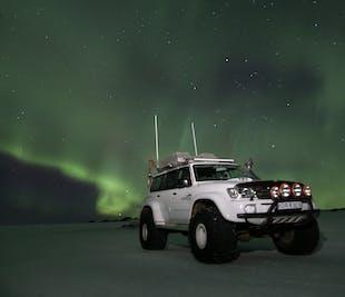 Polowanie na zorzę polarną | Wycieczka Super Jeepem na Eyjafjallajökull