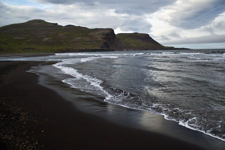 The inlet of Brúnavík in north east Iceland.