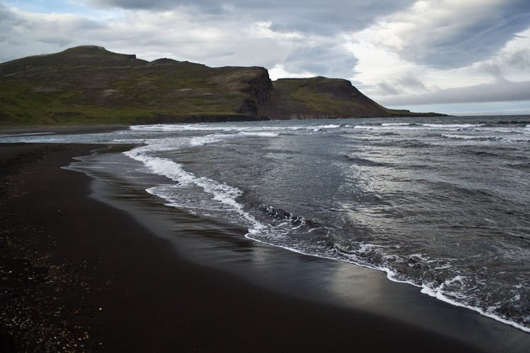 The inlet of Brúnavík in north east Iceland.