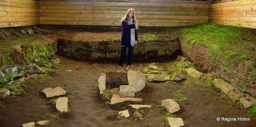 Stöng - ruins of a Viking Settlement farm