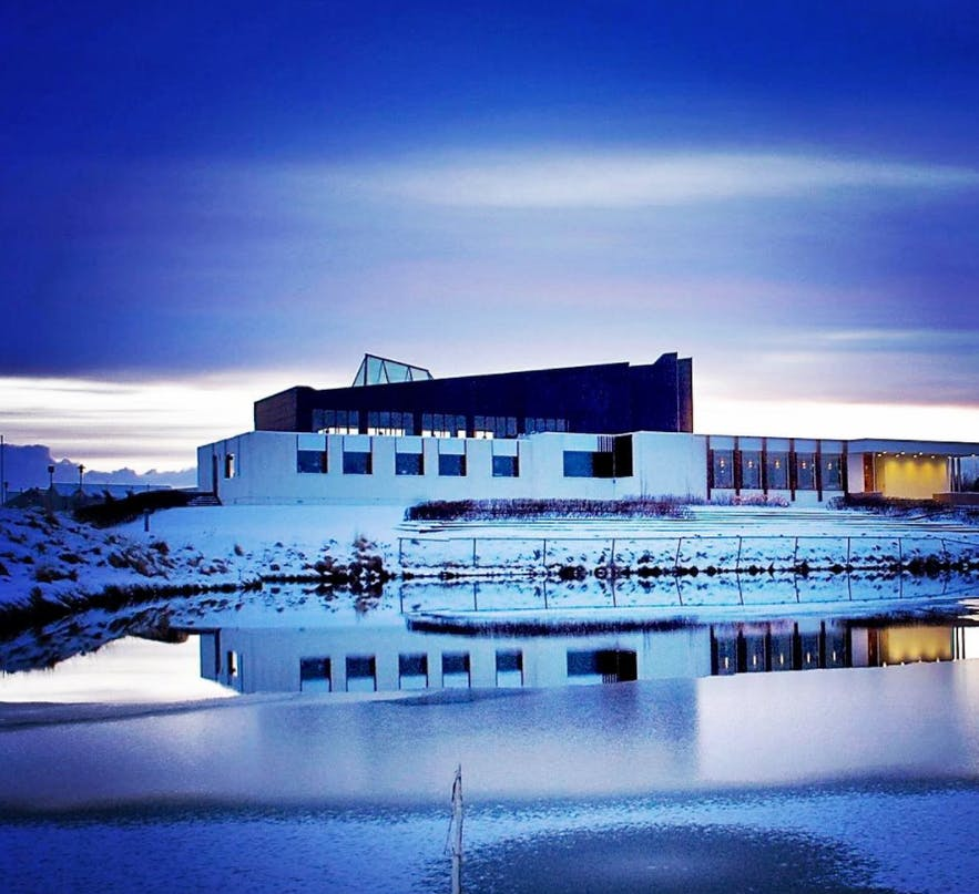 The Nordic House in Reykjavik.