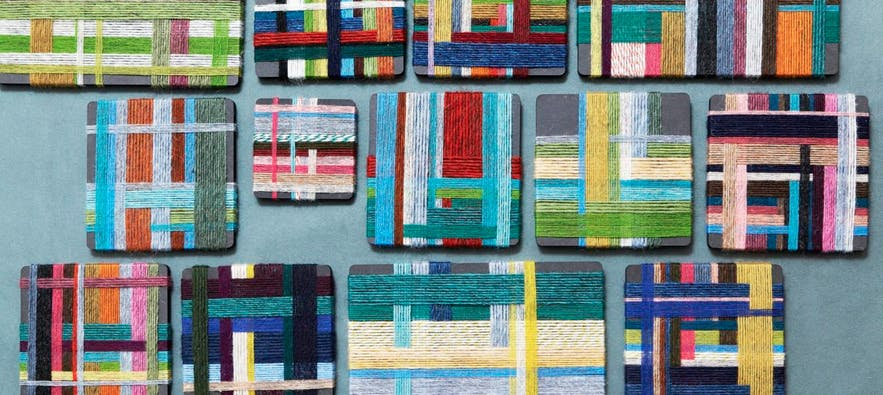 'A Colour Map of Icelandic Wool' Exhibition at The Nordic House.