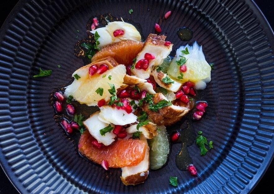스베인 캬르탄손의 맛있고 신선한 요리