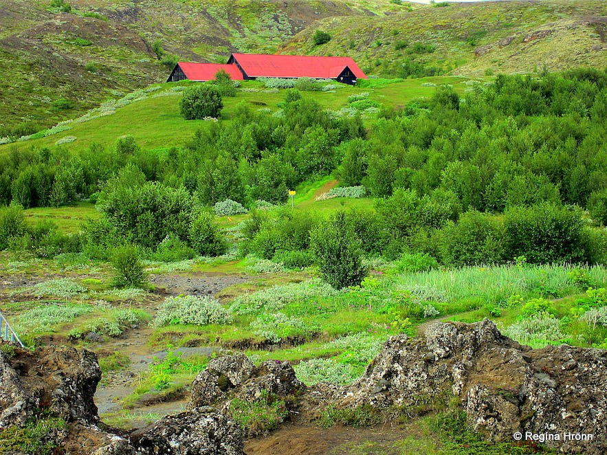 Stong Ruins Of A Real Viking Settlement Manor And The