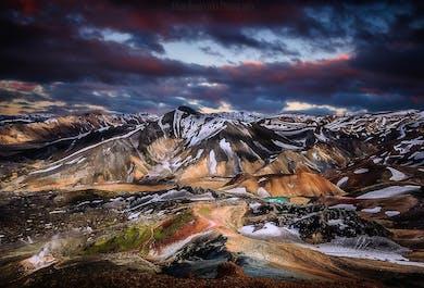 Landmannalaugar & Hekla Volcano   Private Super Jeep Tour