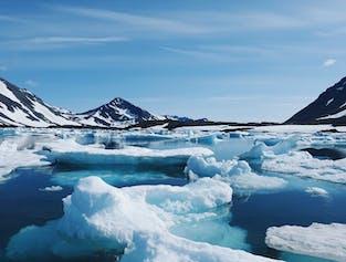 Fiordy otaczające grenlandzką wioskę Kulusuk są znane z liczby gór lodowych i wielorybów.