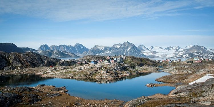 The landscapes of Greenland from Kulusuk are undoubtedly some of the most beautiful in the world.