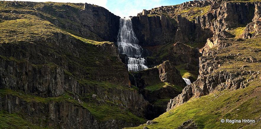 Þuríðarfoss waterfall, Bustarfell East-Iceland