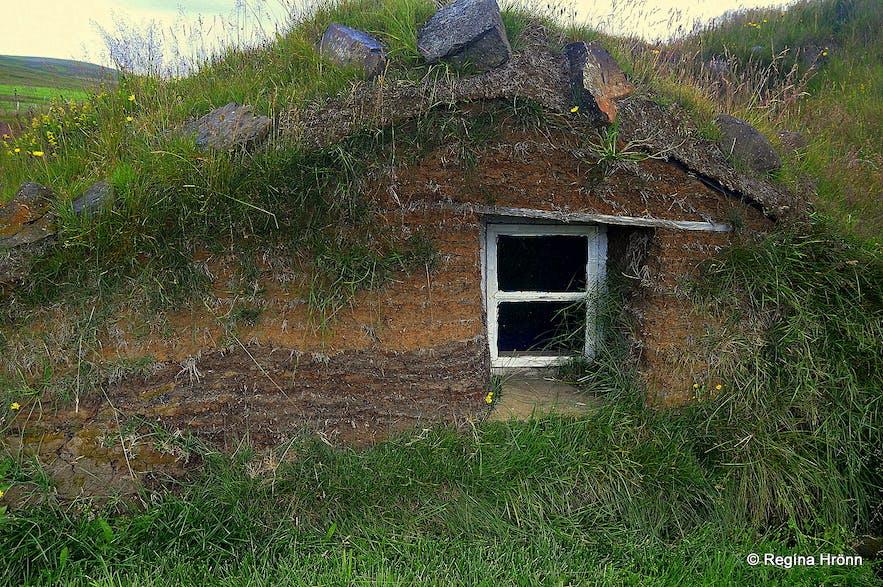 Bustarfell turf house East-Iceland