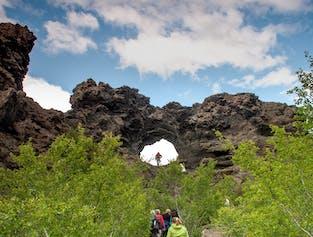 Sightseeing am Mývatn-See und Naturbad-Option   ab Akureyri