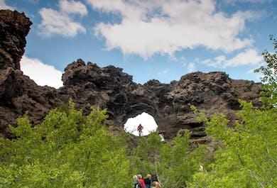 Sightseeing am Mývatn-See und Naturbad-Option | ab Akureyri