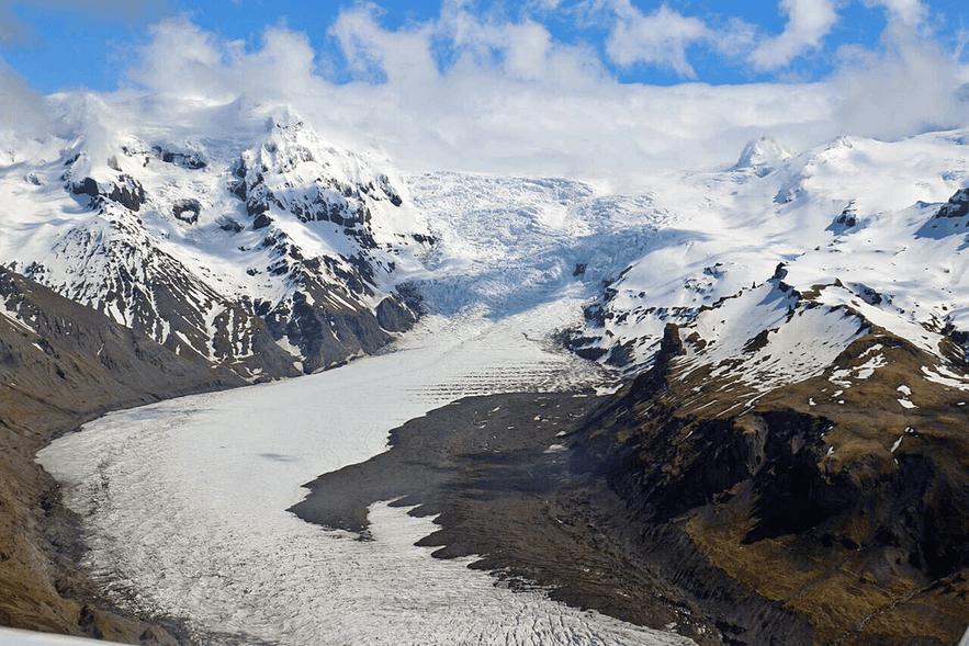 斯卡夫塔山景点 冰岛最高的山