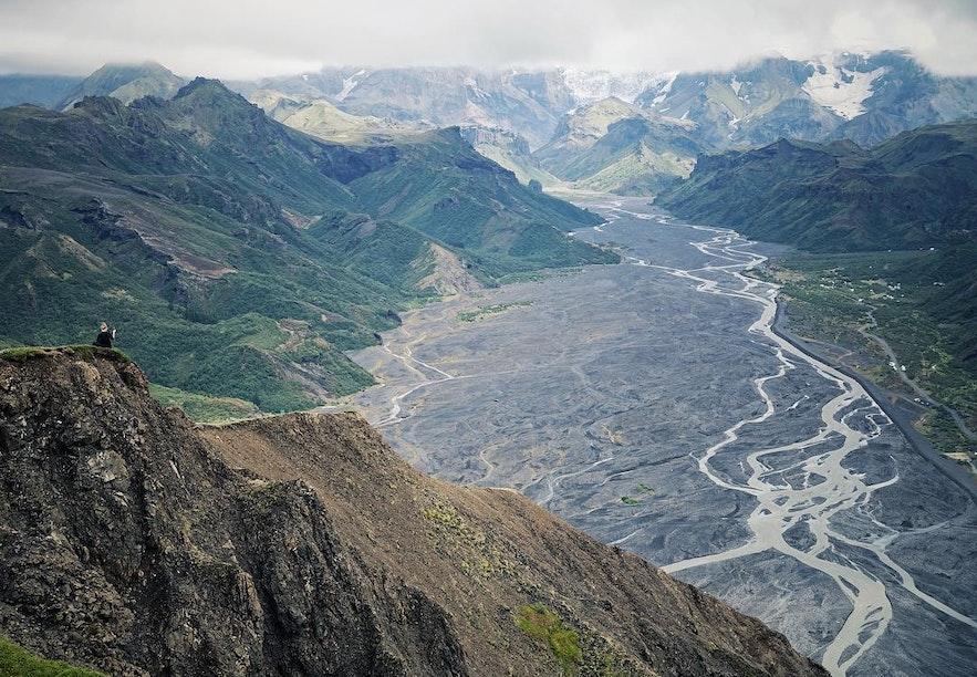 冰岛索斯莫克-索尔山谷-Þórsmörk-Thorsmork