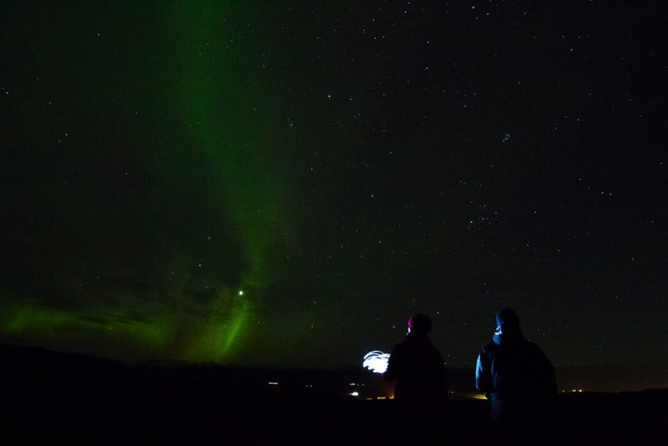 Northern Lights in East Iceland