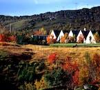 Þingvellir National Park is full of colour throughout summer.