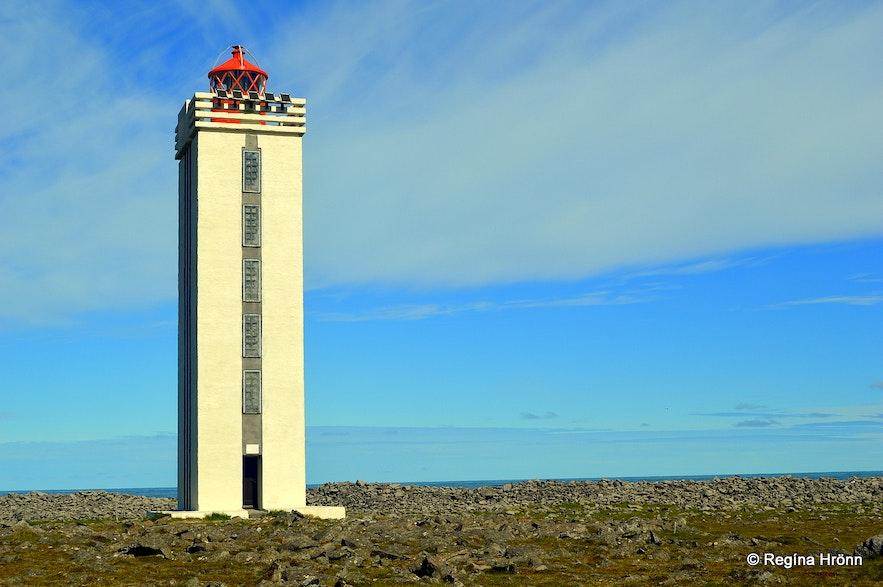 Hraunhafnartangi lighthouse NE-Iceland