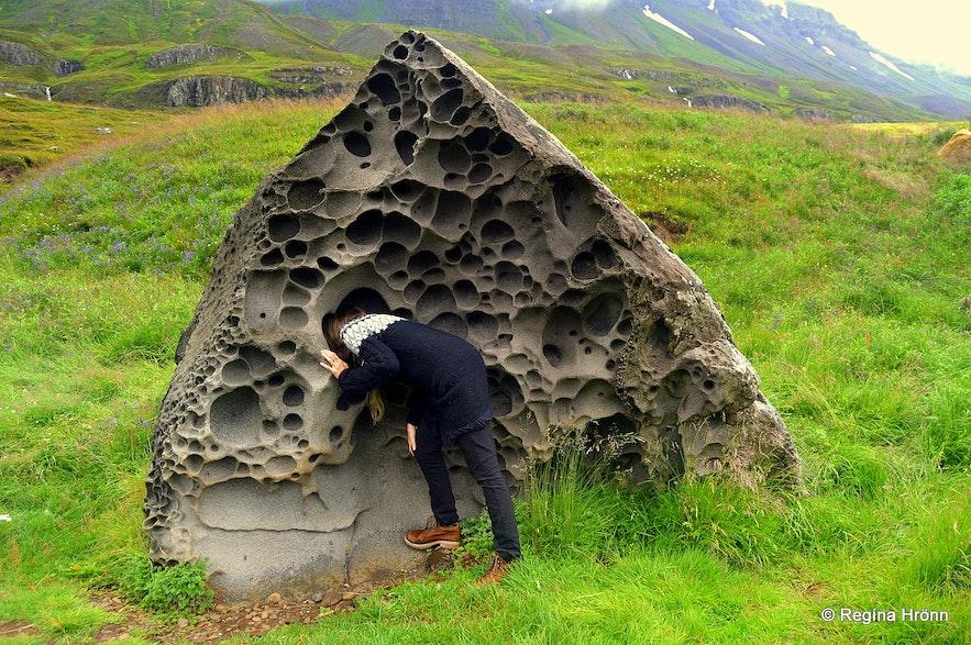 Dvergasteinn - the Rock of the Dwarfs - by Seyðisfjörður