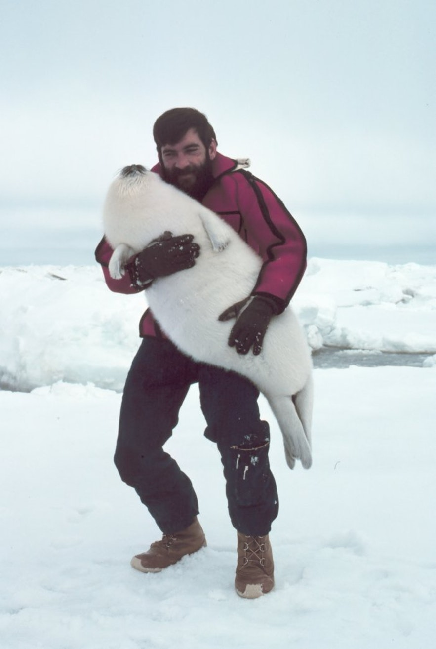 This man has dressed his child as the Greenlandic equivalent of a roast dinner. Photo Credit: Captain Budd Christman