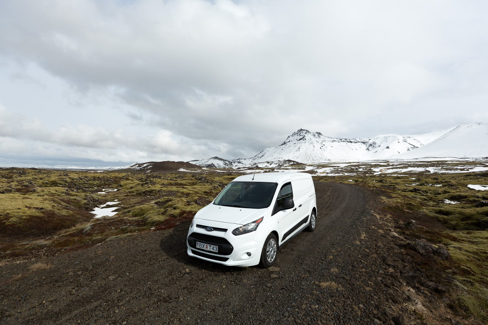 Ford Transit Connect Camper w/heater 2017