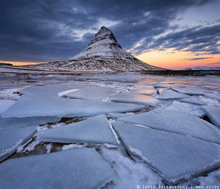 Tour guiado de 8 días en invierno   Alrededor de Islandia en grupo pequeño